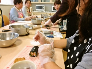 主婦.料理教室.プチ資格.横浜.川崎.飾り巻き寿司