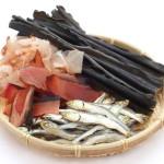 和食の出汁の材料
